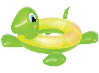 Bestway Nafukovací kruh Želva - Žlutozelená