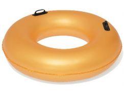 Bestway Nafukovací kruh zlatý 91 cm