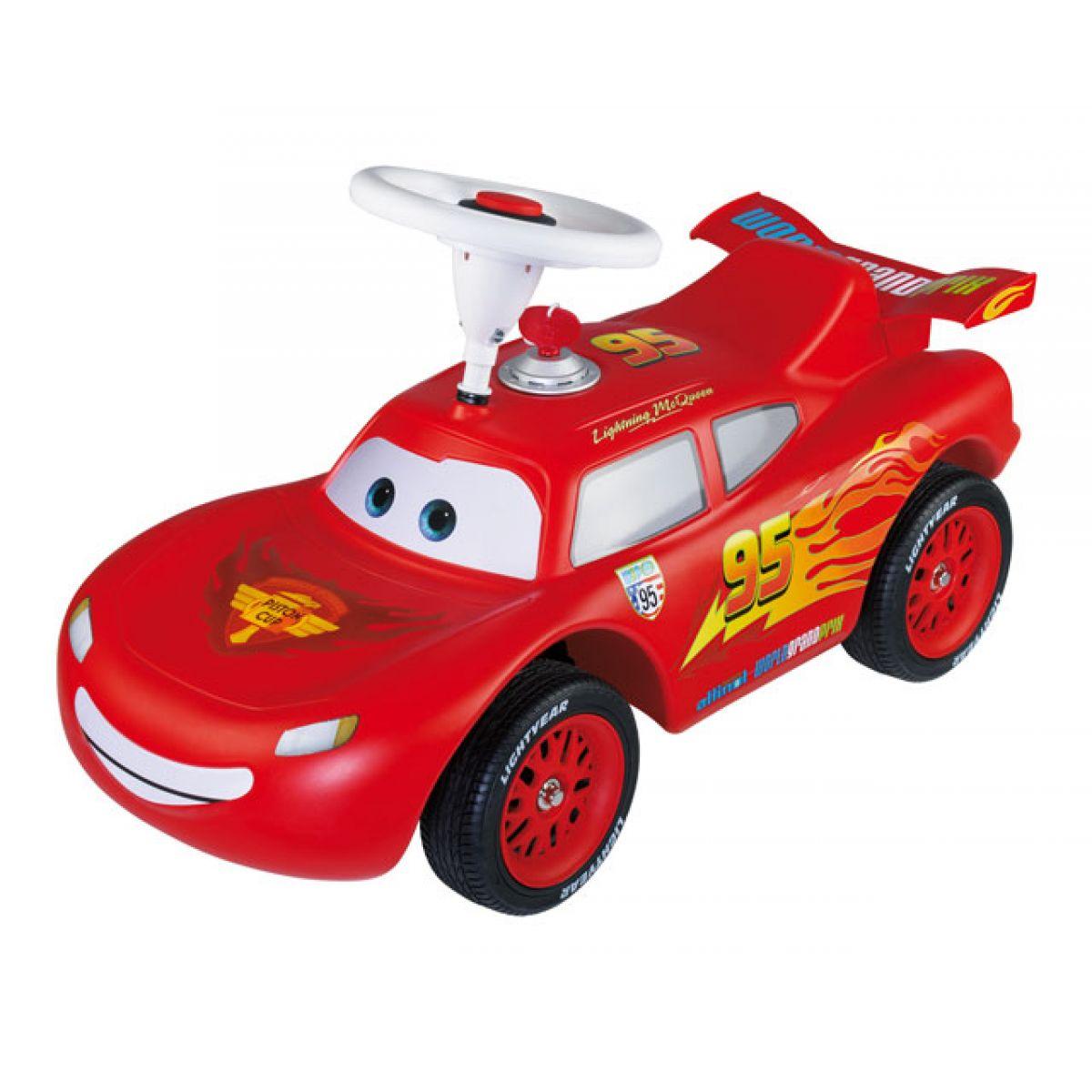Big Auto odstrkovadlo LIGHTNING MC QUEEN Cars2