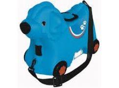 Big Kufřík odrážedlo pejsek modrý
