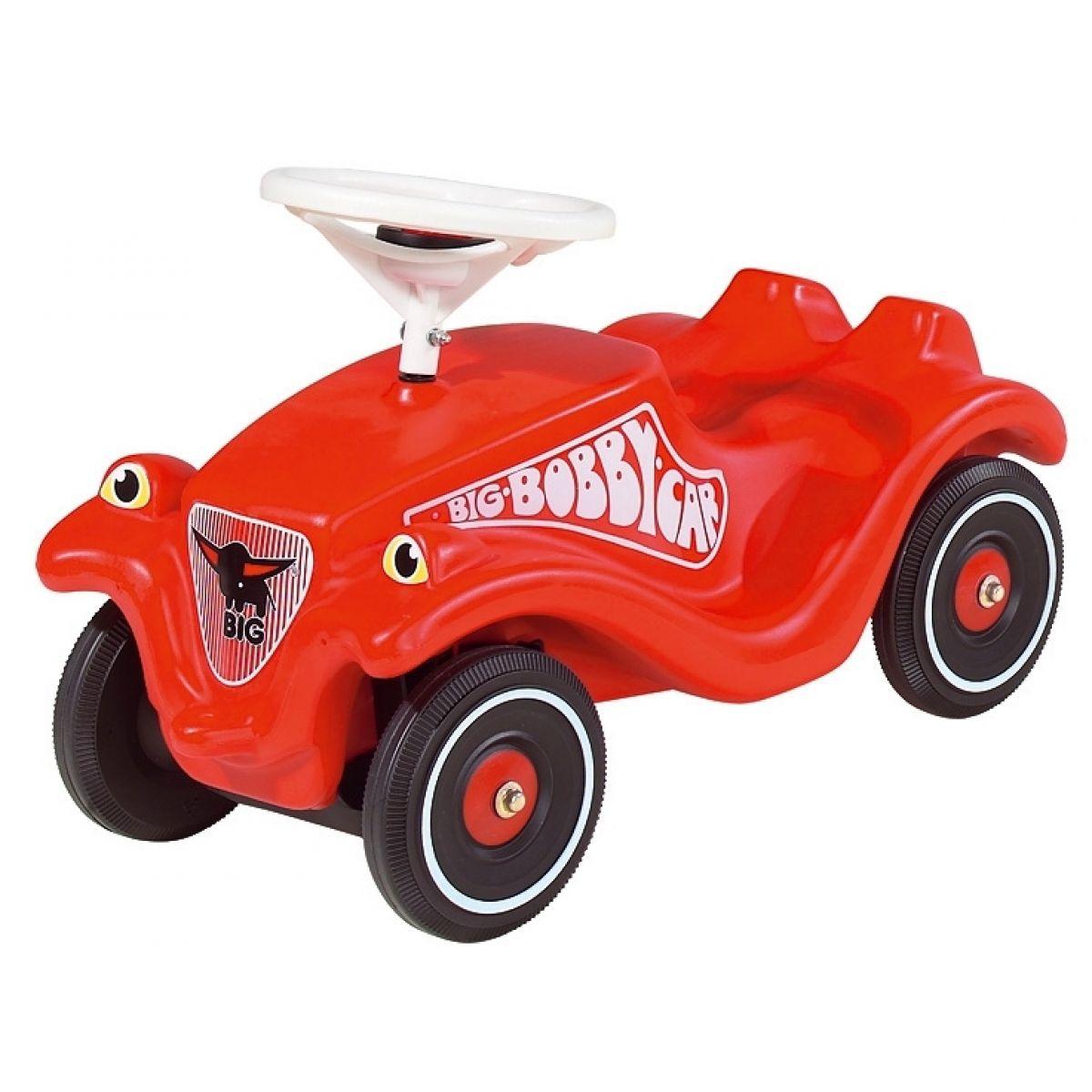Big Odstrkovadlo Bobby auto červené