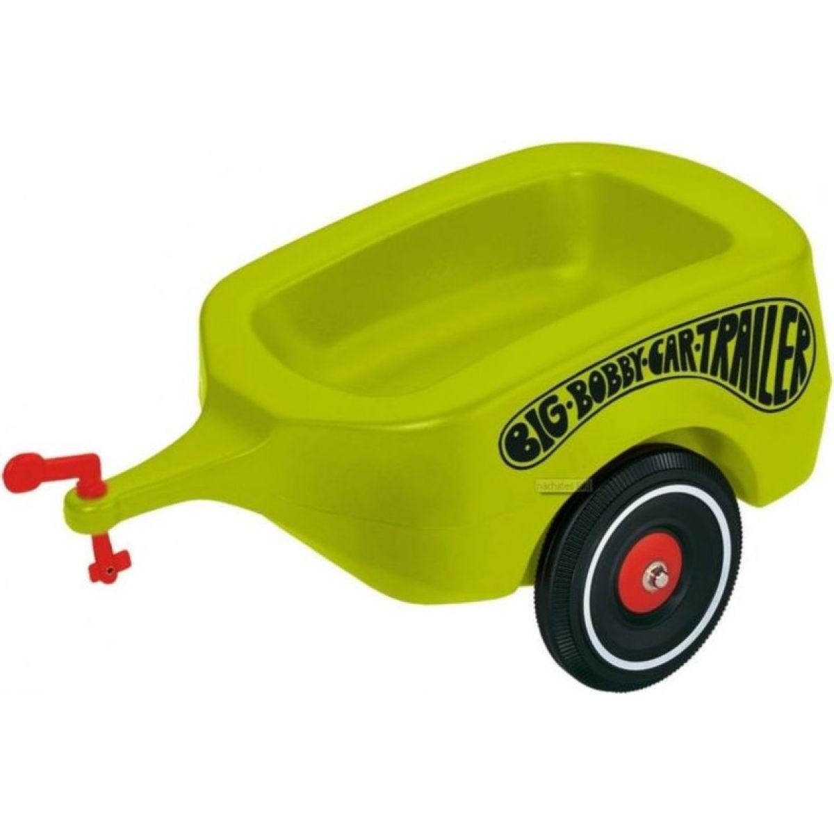 Big Přívěsný vozík Bobby zelený - Poškozený obal