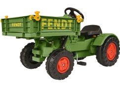 Big Šlapací traktor Fendt s vyklápěcí plošinou