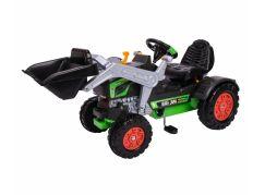 Big Šlapací traktor JIM Turbo se lžící a zvukovým volantem