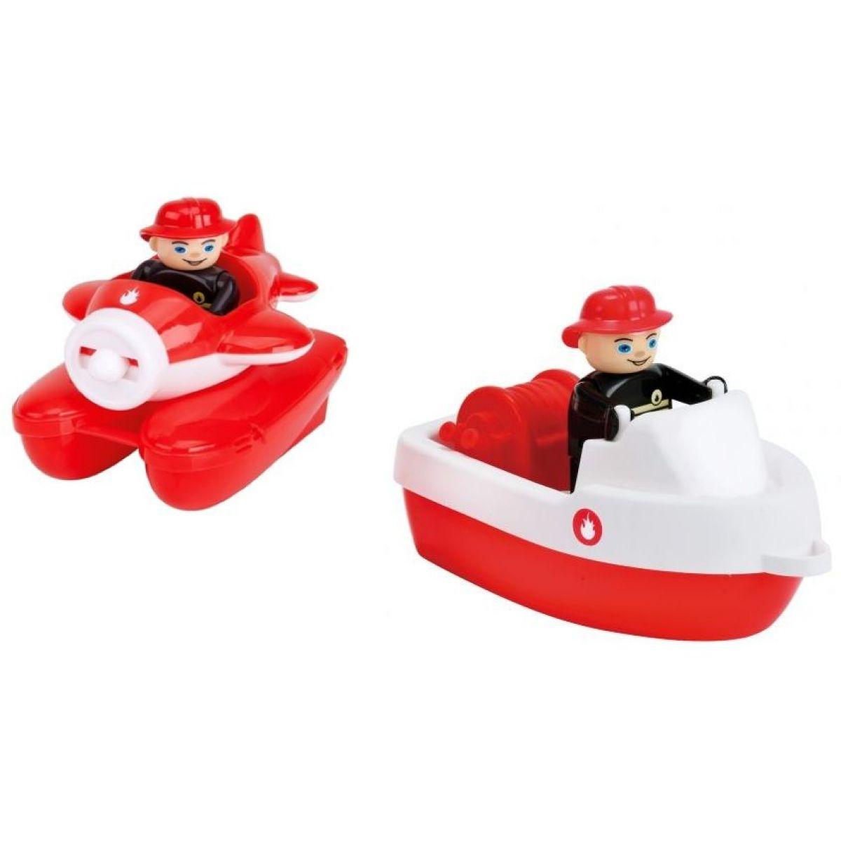 BIG Waterplay Set lodiček hasičů