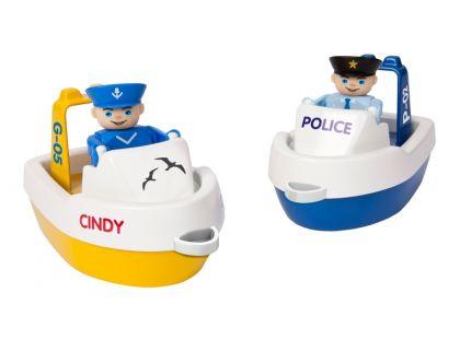 Big Waterplay Set lodiček policie