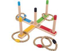 Bigjigs Toys Házení kruhů