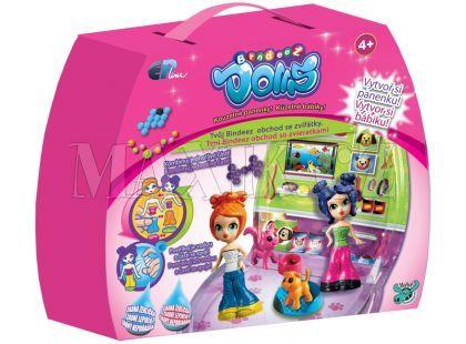 Bindeez Dolls start - Obchod se zvířátky