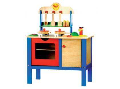 Bino Dětská kuchyňka s příslušenstvím 17dílů