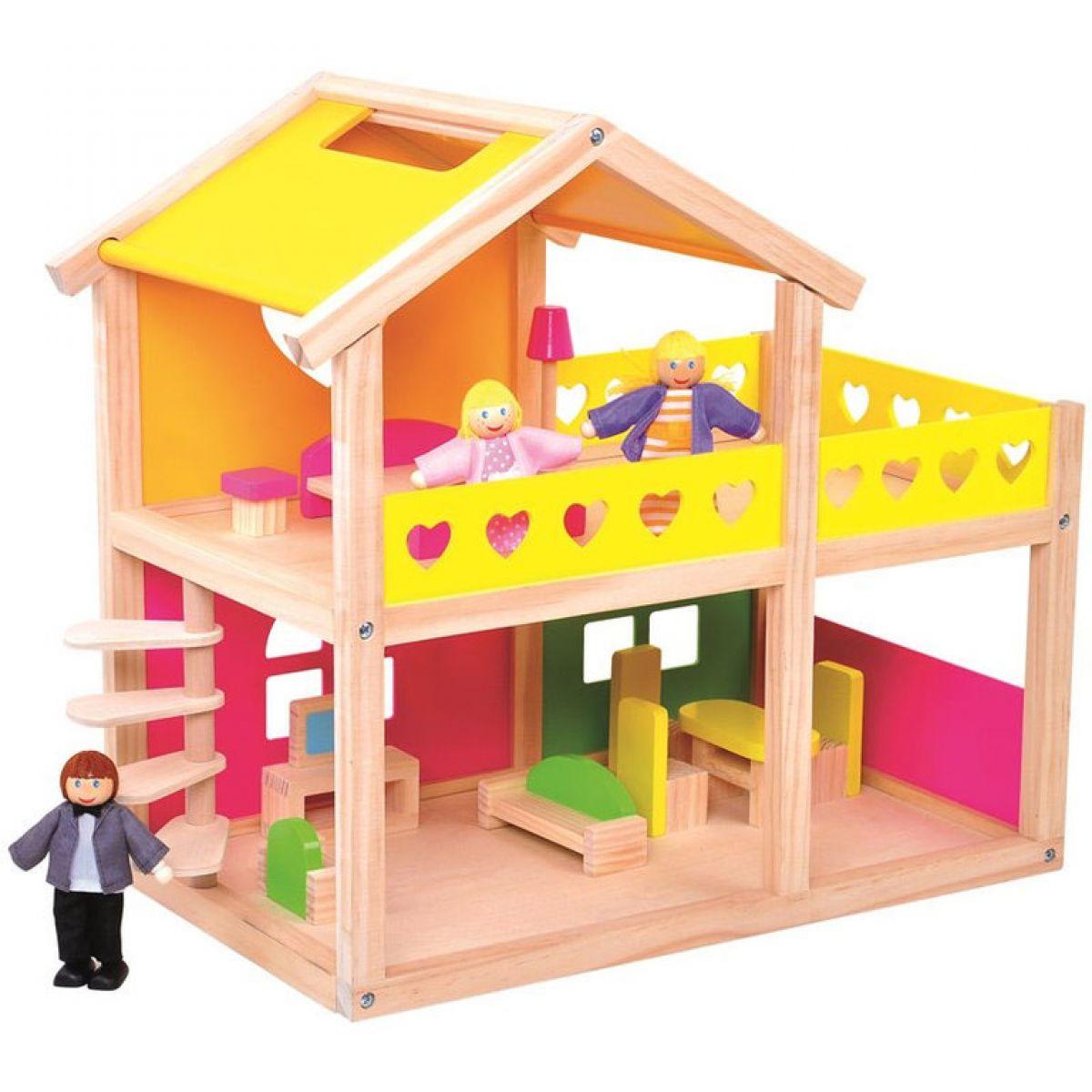 Bino Domeček pro panenky Villa