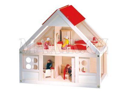Bino Domeček pro panenky MAXI