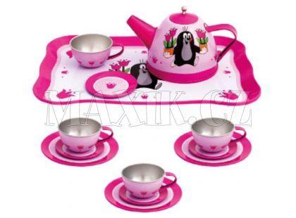 Bino Dětský čajový set Krtek