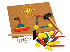 Bino Hra s kladívkem 229 dílků
