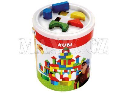 Bino Kostky v kbelíku 100 kusů