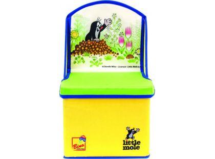Bino Krteček Box na hračky židle