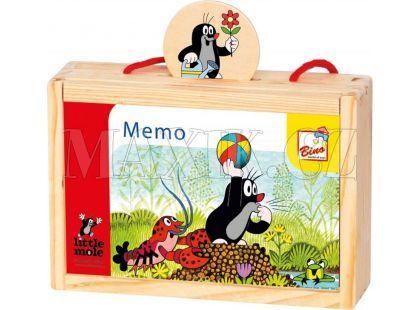 Bino Krteček Pexeso v krabičce
