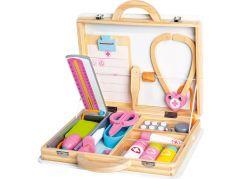 Bino Lékařský set v dřevěném kufříku