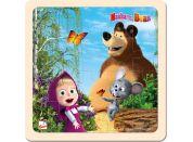 Bino Máša a medvěd puzzle s myškou 20x20cm