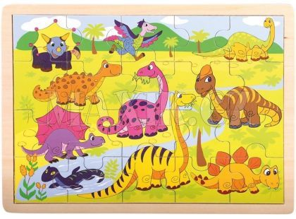 Bino Puzzle Dinosauři