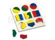 Bino Puzzle geometrické tvary