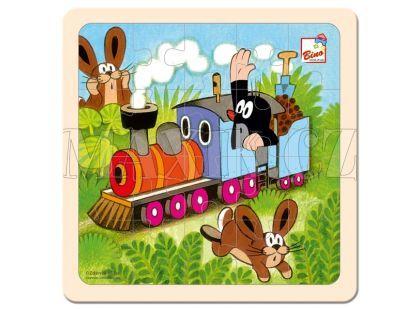 Bino Puzzle Krtek a mašinka