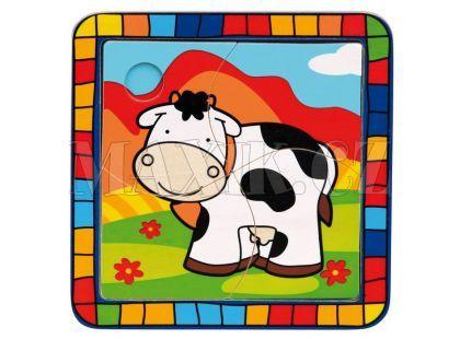 Bino Puzzle kráva
