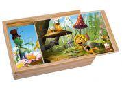 Bino Puzzle v krabičce Včelka Mája 4ks