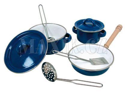 Bino Sada smaltovaného nádobí 8 ks
