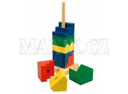 Bino Skládací věž barevná