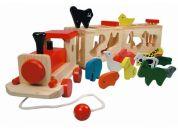 Bino Vlak se zvířátky Zoo Trenino