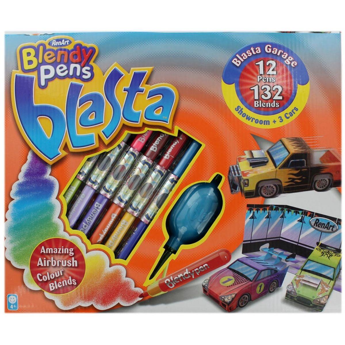 Blendy pens Blasta Garage showroom