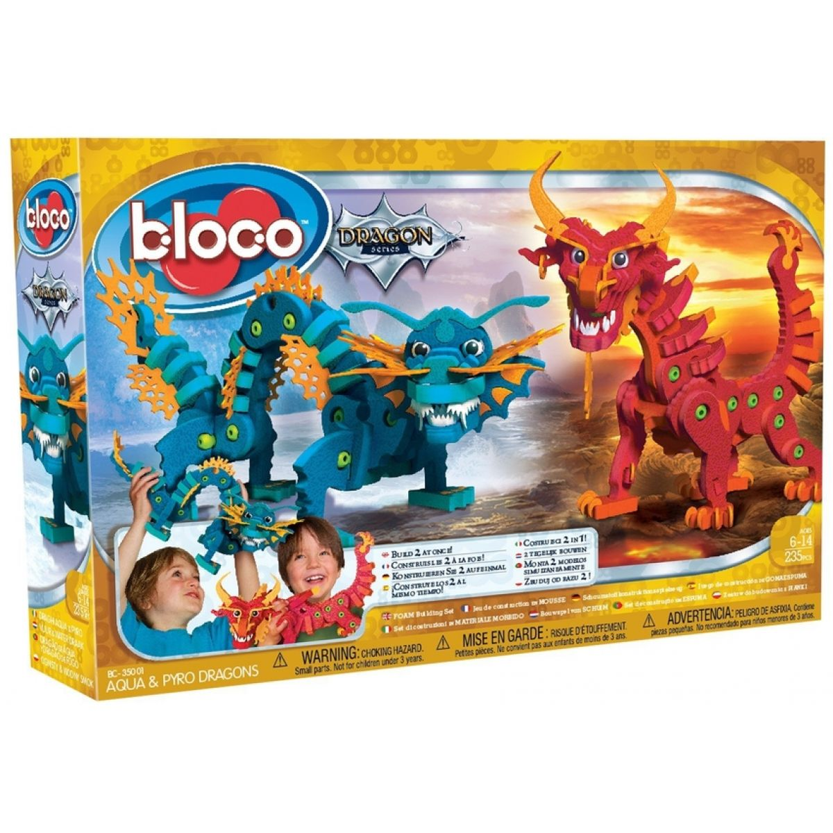 Bloco - Draci ohně a vody