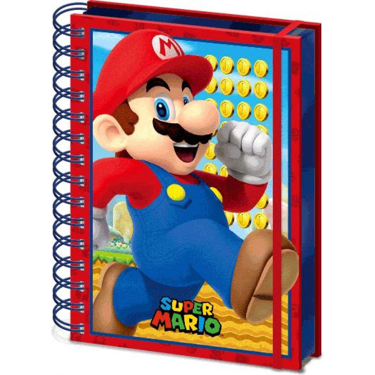 Blok A5 3D Super Mario
