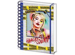Blok A5 kroužkový Harley Quinn
