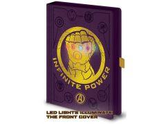 Zápisník A5 premium svítící Avengers