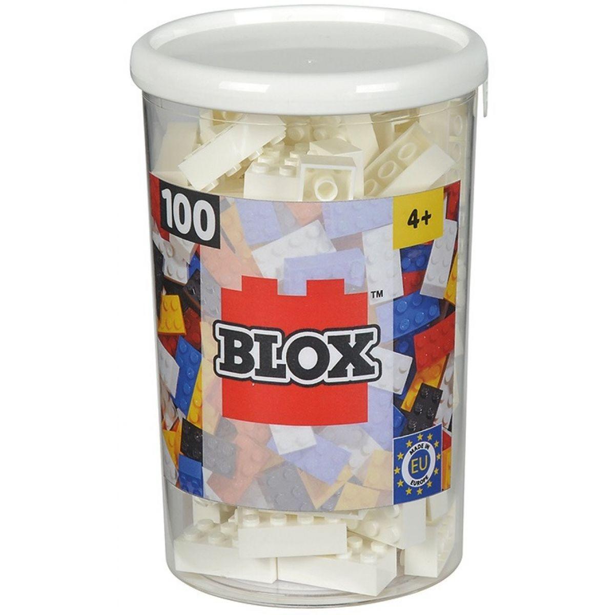 Blox 100 Kostičky bílé