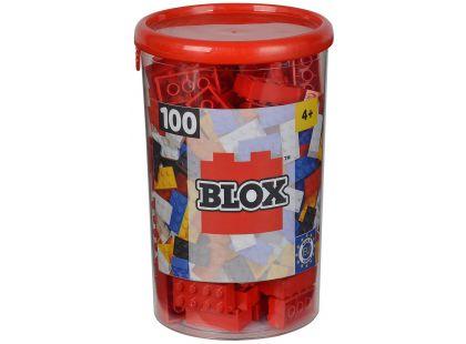 Blox 100 Kostičky červené