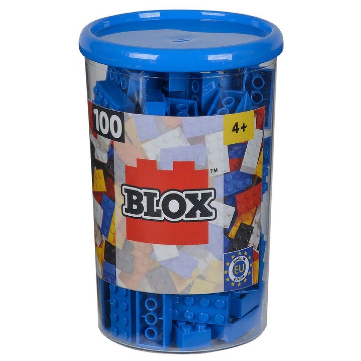 Blox 100 Kostičky modré