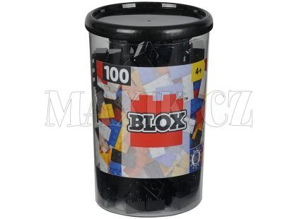 Blox 100 Kostičky černé