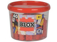 Blox 40 Kostičky červené