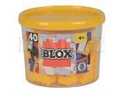 Blox 40 Kostičky žluté