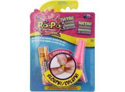 Bo-Po Lak na nehty a balzám Tmavě růžová zmrzlina