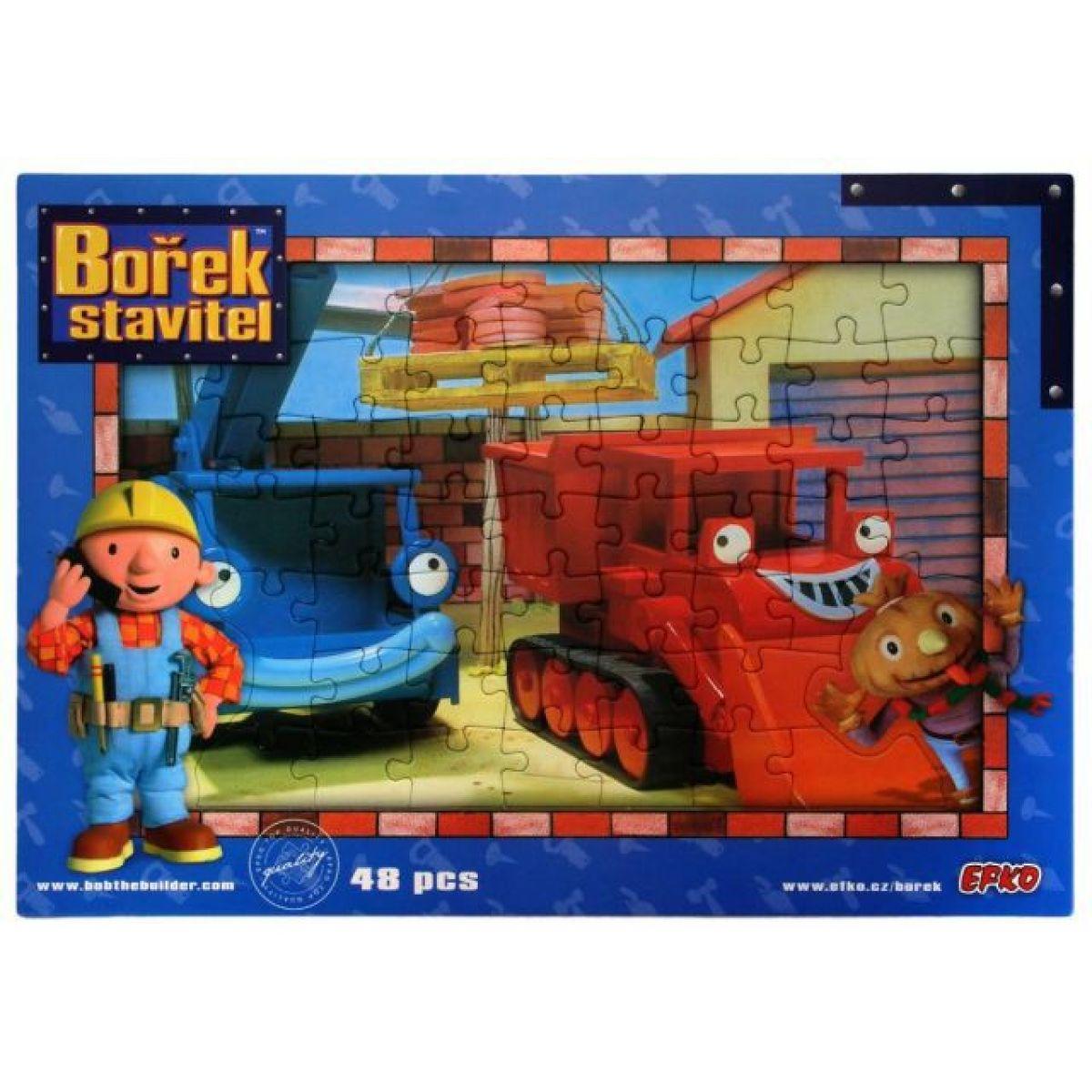 Bob builder Puzzle - Maxík a Lůďa, 48d