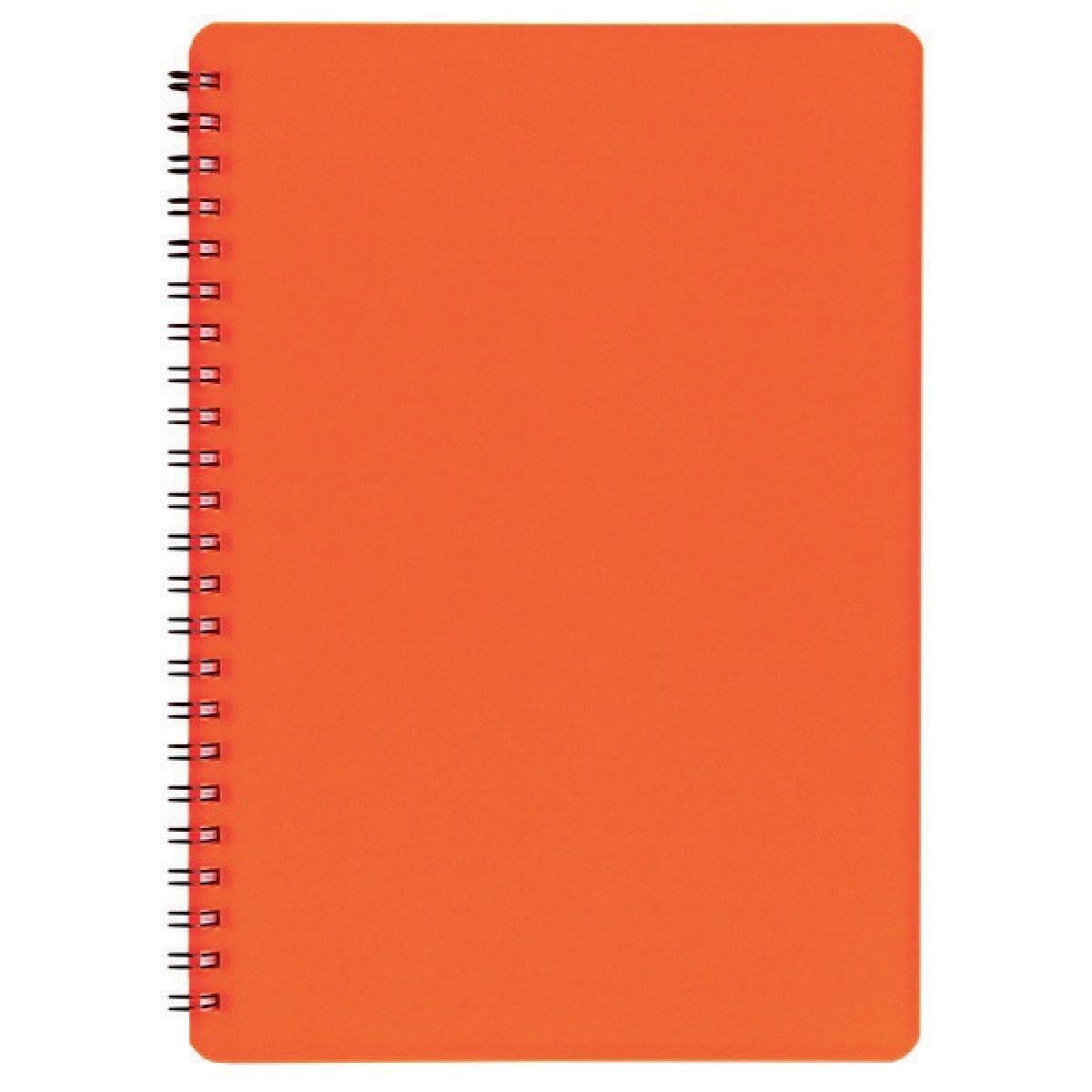 BOBO Plastic blok neon A5 linka Oranžová