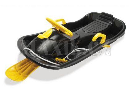 Boby s volantem řiditelné - Černá