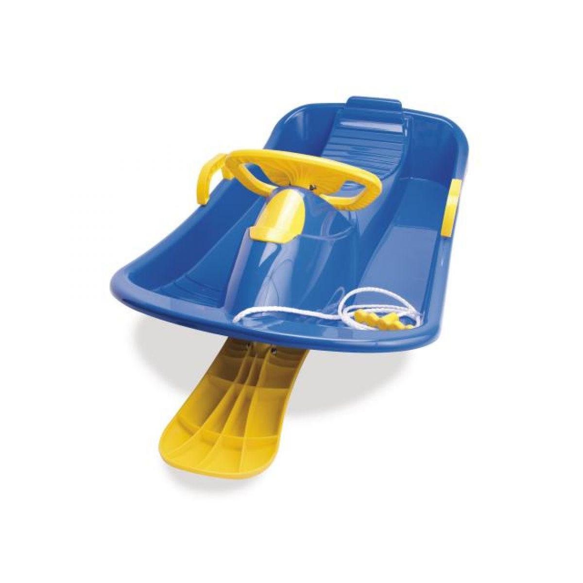 Boby s volantem řiditelné - Modrá