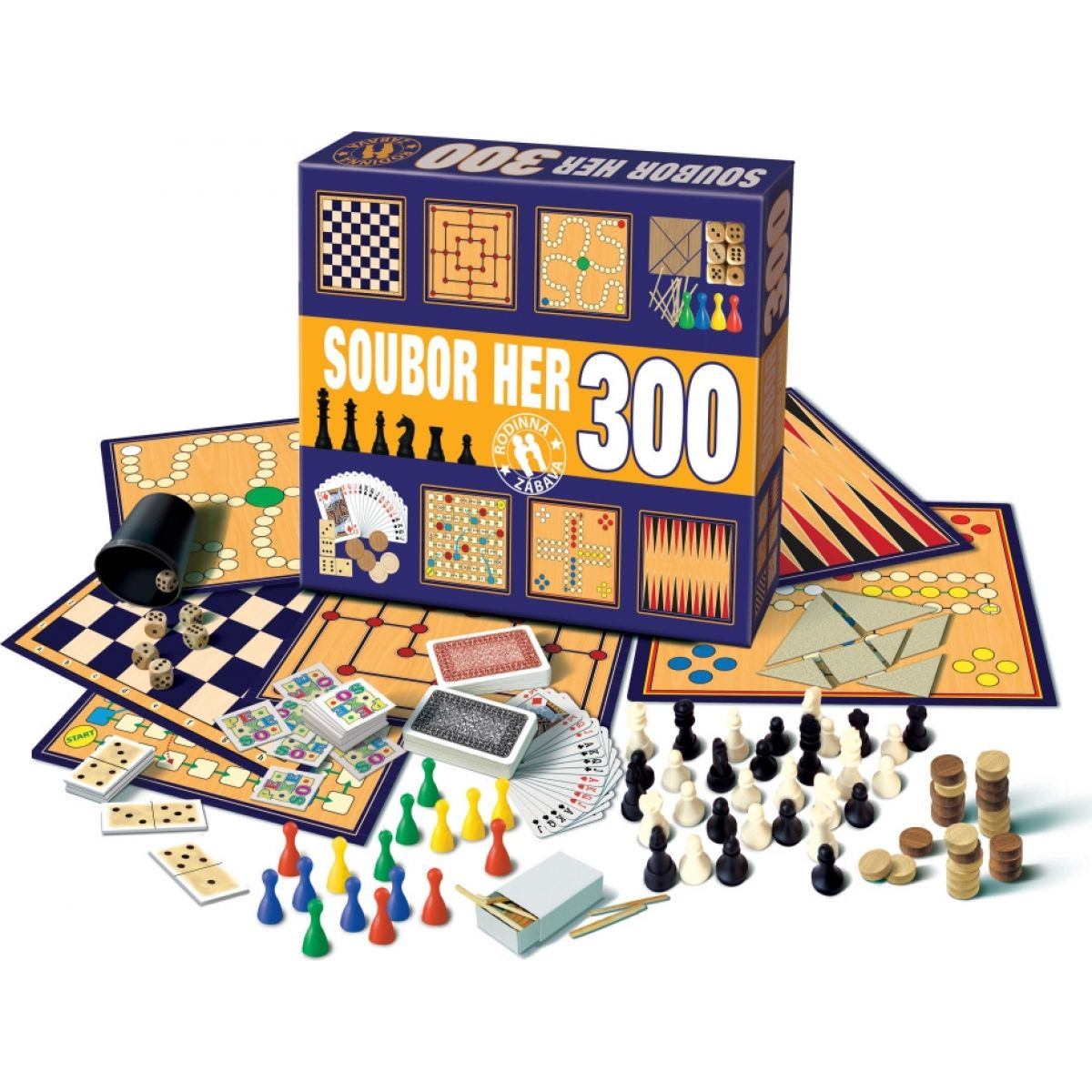 Bonaparte 300 herních variant - soubor her