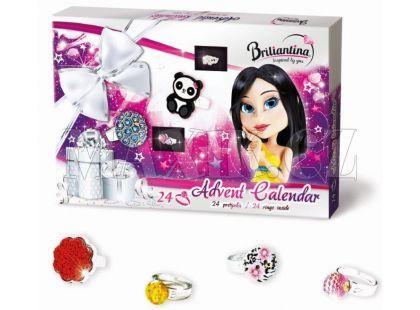 Bonaparte Adventní kalendář Briliantina Prstýnky 2015