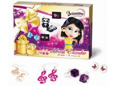 Bonaparte Adventní kalendář Briliantina Naušnice 2015