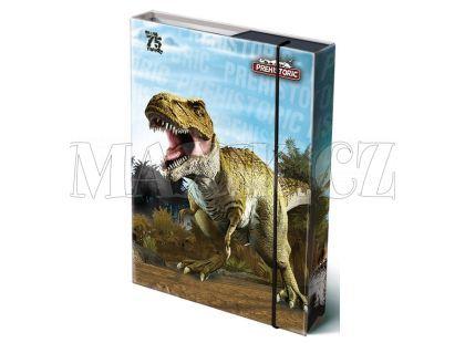 Bonaparte Box na sešity A4 Prehistoric 3D